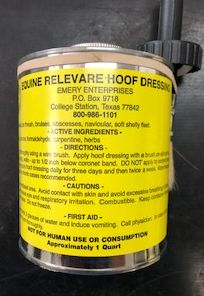 Need A Miracle - Equine Relevare Hoof Dressing