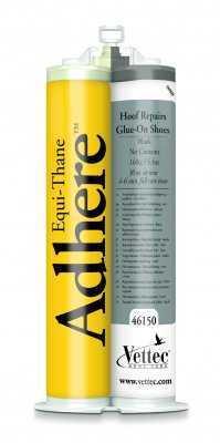Vettec Equi-Thane Adhere Black 160 cc