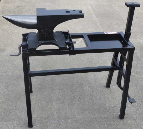 NC Tool Folding Anvil Stand W/Vice