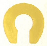 No-Vibe Yellow Rim Flat Pad